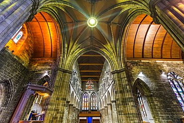 Interior view of Paisley Abbey, Renfrewshire, Scotland, United Kingdom, Europe