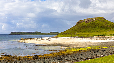 Claigan Coral Beach, Isle of Skye, Inner Hebrides, Highlands and Islands, Scotland, United Kingdom, Europe