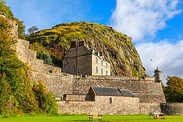 Dumbarton Castle, Dumbarton Rock, Dunbartonshire, Scotland, United Kingdom, Europe
