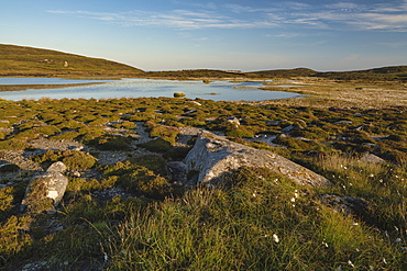 Lough Namuck, Arranmore Island, County Donegal, Ulster, Republic of Ireland, Europe