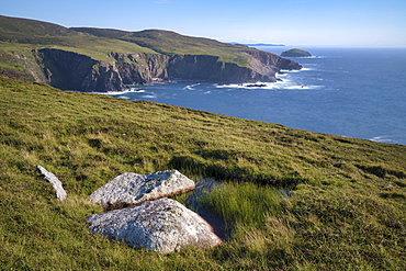 Cliffs, Arranmore Island, County Donegal, Ulster, Republic of Ireland, Europe