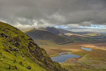 Conor Pass, County Kerry, Munster, Republic of Ireland, Europe