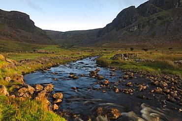 Anascaul Valley, County Kerry, Munster, Republic of Ireland, Europe