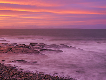 Kilbaha Bay, Loop Head, County Clare, Munster, Republic of Ireland, Europe