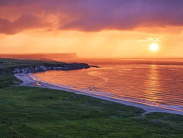 Whitepark Bay, County Antrim, Ulster, Northern Ireland, United Kingdom, Europe