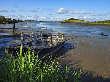 Fergus Estuary, County Clare, Munster, Republic of Ireland, Europe