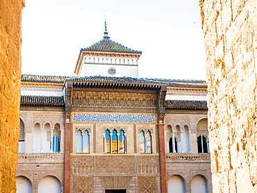 Alcazar Palace, UNESCO World Heritage Site, Seville (Sevilla), Andalucia, Spain, Europe