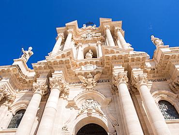 Syracuse Cathedral, Ortygia, Syracuse (Siracusa), UNESCO World Heritage Site, Sicily, Italy, Europe