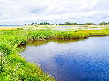 Danish seaside landscape, Aaro, Jutland, Denmark, Europe