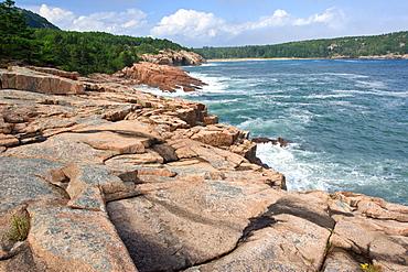 Coastline, Maine, New England, United States of America, North America