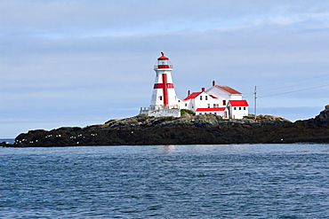 Lighthouse, Eastport, Maine, New England, United States of America, North America