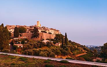 St. Paul de Vence, Alpes Maritimes, Cote d'Azur, French Riviera, Provence, France, Europe