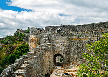 Sortelha, a historical mountain village, built within Medieval fortified walls, included in Portugal's Historical Village route, Sortelha, Portugal, Europe