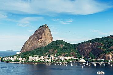 Sugarloaf Mountain in Rio de Janeiro, Brazil, South America - 1243-361