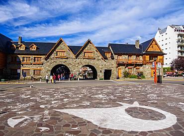Civic Center, San Carlos de Bariloche, Nahuel Huapi National Park, Rio Negro Province, Argentina, South America