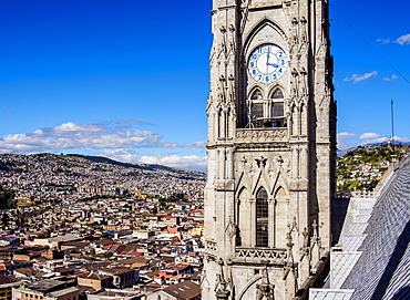 Basilica of the National Vow, Old Town, Quito, Pichincha Province, Ecuador, South America