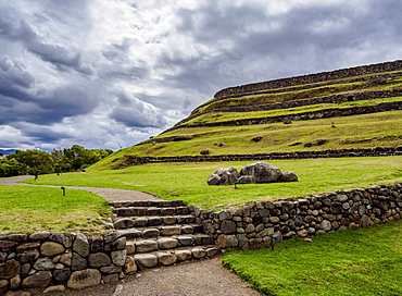 Pumapungo Ruins, Archaeological Site, Cuenca, Azuay Province, Ecuador, South America