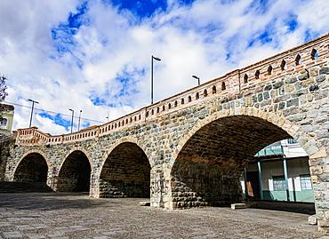 Puente Roto, broken bridge, Cuenca, Azuay Province, Ecuador, South America