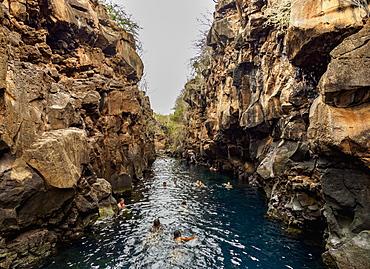 Las Grietas, Santa Cruz (Indefatigable) Island, Galapagos, UNESCO World Heritage Site, Ecuador, South America