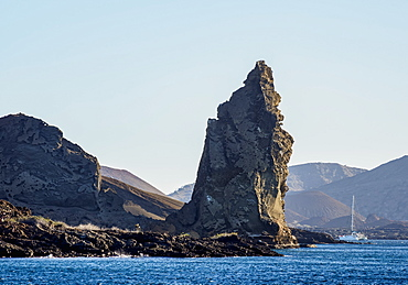 Pinnacle Rock on Bartolome Island, Galapagos, UNESCO World Heritage Site, Ecuador, South America