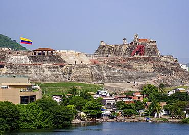 San Felipe Castle, UNESCO World Heritage Site, Cartagena, Bolivar Department, Colombia, South America