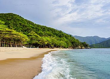 Playa Cristal, Tayrona National Natural Park, Magdalena Department, Caribbean, Colombia, South America