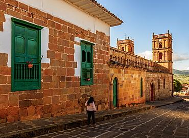 La Inmaculada Concepcion Cathedral, Barichara, Santander Department, Colombia, South America
