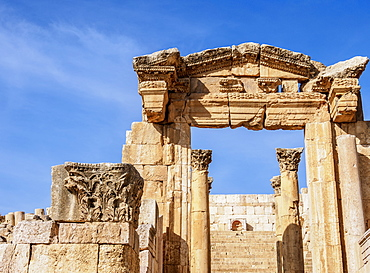 Jerash Ruins, Jerash Governorate, Jordan, Middle East