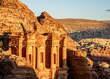 The Monastery (Ad-Deir), Petra, UNESCO World Heritage Site, Ma'an Governorate, Jordan, Middle East