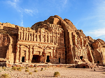 Palace and Corinthian Tombs, Petra, UNESCO World Heritage Site, Ma'an Governorate, Jordan, Middle East