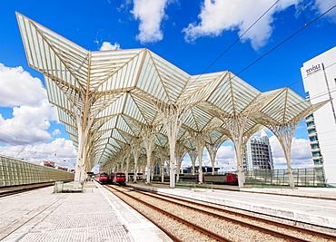 Oriente Train Station, Lisbon, Portugal, Europe