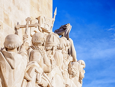 Monument to the Discoveries, Belem, Lisbon, Portugal, Europe