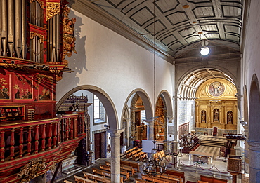 Se Cathedral, interior, Faro, Algarve, Portugal, Europe