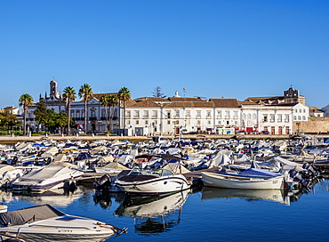 Marina in Faro, Algarve, Portugal, Europe