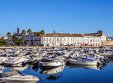 Marina in Faro, Algarve, Portugal, Europe