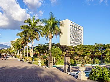 Emancipation Park, Kingston, Saint Andrew Parish, Jamaica, West Indies, Caribbean, Central America