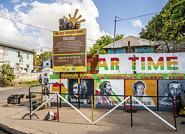 1st Street, Trench Town, Kingston, Saint Andrew Parish, Jamaica, West Indies, Caribbean, Central America