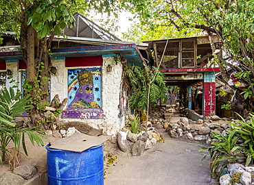 Lee Scratch Perry House, 5 Cardiff Crescent, Washington Gardens, Kingston, Saint Andrew Parish, Jamaica, West Indies, Caribbean, Central America