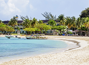 Bay Beach, Ocho Rios, Saint Ann Parish, Jamaica, West Indies, Caribbean, Central America