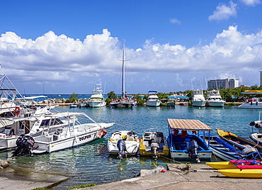 Marina in Ocho Rios, Saint Ann Parish, Jamaica, West Indies, Caribbean, Central America