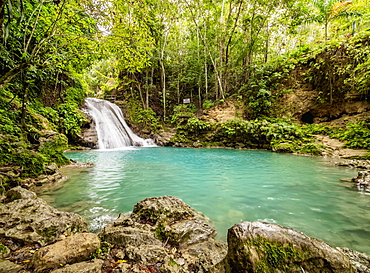 Blue Hole near Ocho Rios, Saint Ann Parish, Jamaica, West Indies, Caribbean, Central America