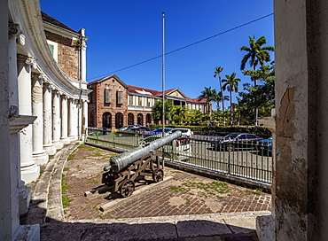 Main Square, Spanish Town, Saint Catherine Parish, Jamaica, West Indies, Caribbean, Central America