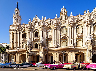 Gran Teatro de La Habana (Alicia Alonso) (Grand Theatre), Havana, La Habana Province, Cuba, West Indies, Central America
