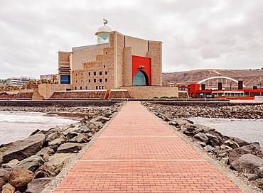 Alfredo Kraus Auditorium, Las Palmas de Gran Canaria, Gran Canaria, Canary Islands, Spain