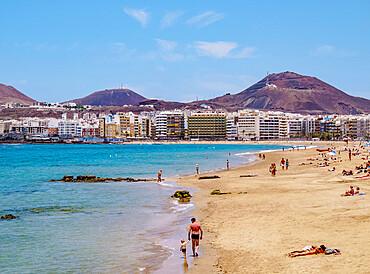 Las Canteras Beach, Las Palmas de Gran Canaria, Gran Canaria, Canary Islands, Spain