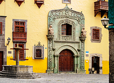 Casa de Colon, Columbus House, Plaza del Pilar Nuevo, Las Palmas de Gran Canaria, Gran Canaria, Canary Islands, Spain