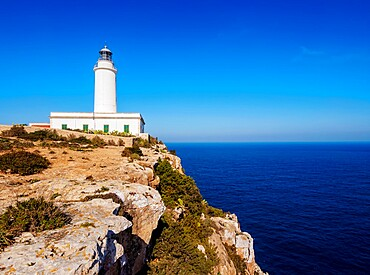 Far de la Mola Lighthouse, Formentera, Balearic Islands, Spain, Mediterranean, Europe