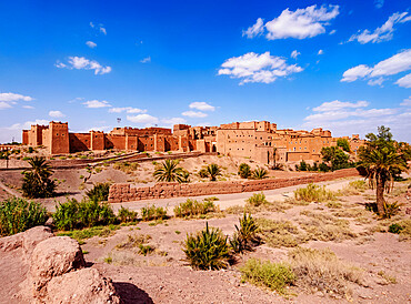 Kasbah Taourirt, Ouarzazate, Draa-Tafilalet Region, Morocco, North Africa, Africa
