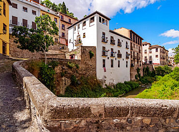 Albaicin (Albayzin) District, Granada, Andalusia, Spain, Europe