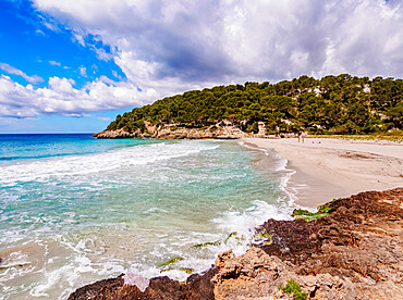 Cala Trebaluger, Trebaluger Bay, Menorca or Minorca, Balearic Islands, Spain